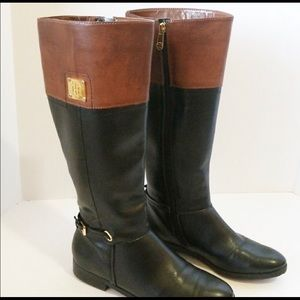 Tommy Hilfiger Riding Boots; Size 8.5; Wide Calf